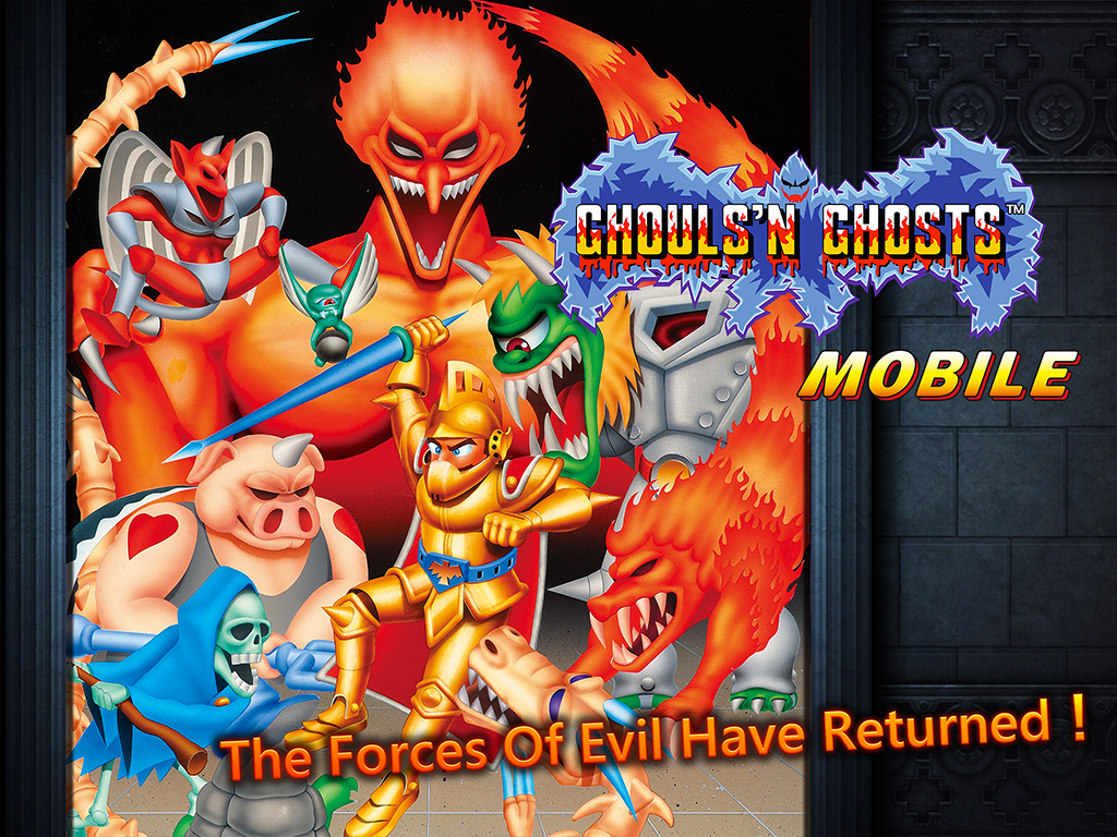 Ghouls'n Ghosts MOBILE- screenshot