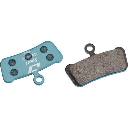Jagwire Sport Organic Disc Brake Pads for SRAM Guide RSC, RS, R, Avid Trail