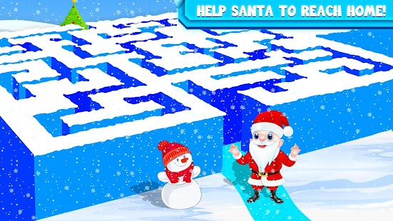 Kids Maze : Educational Puzzle Christmas Fun - náhled