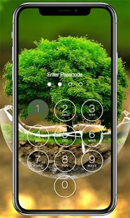 Tree Lock Screen - náhled
