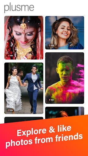 PlusMe u2013 Share your lives with beauty camerauff01 1.4.3.2 screenshots 6