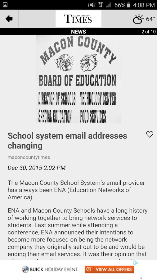 The Macon County Times- screenshot