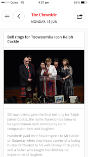 The Toowoomba Chronicle - náhled