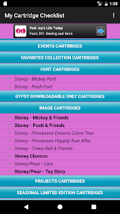 My Cartridge Checklist- screenshot thumbnail