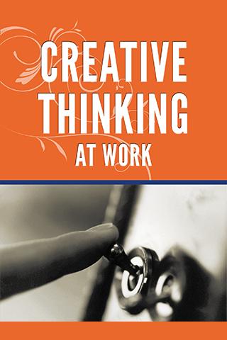 Creative Thinking At Work