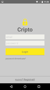 Cripto - Send encrypted text- screenshot thumbnail