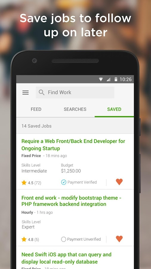 Upwork - Get more done- screenshot