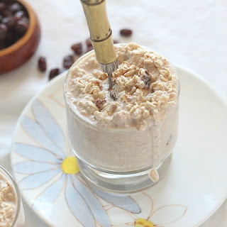 No Sugar Added Cinnamon Raisin Overnight Oatmeal Recipe