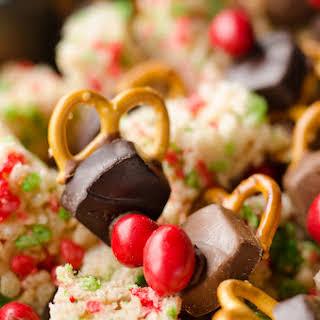 Rice Krispies Reindeer Snack Mix - FREE Printable.