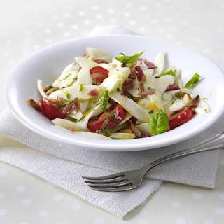 Asparagus, Bacon and Pinenut Salad.