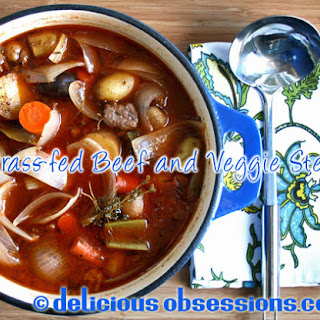 Hearty Grass-fed Beef and Vegetable Stew