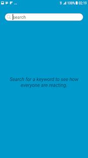 Tweet Analyse - náhled