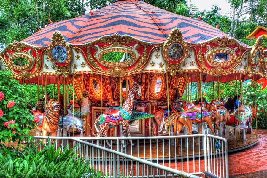 Wild Animal Carousel (HDR)