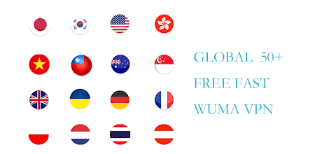 Wuma VPN-PRO(Fast & Unlimited & Security) APK poster