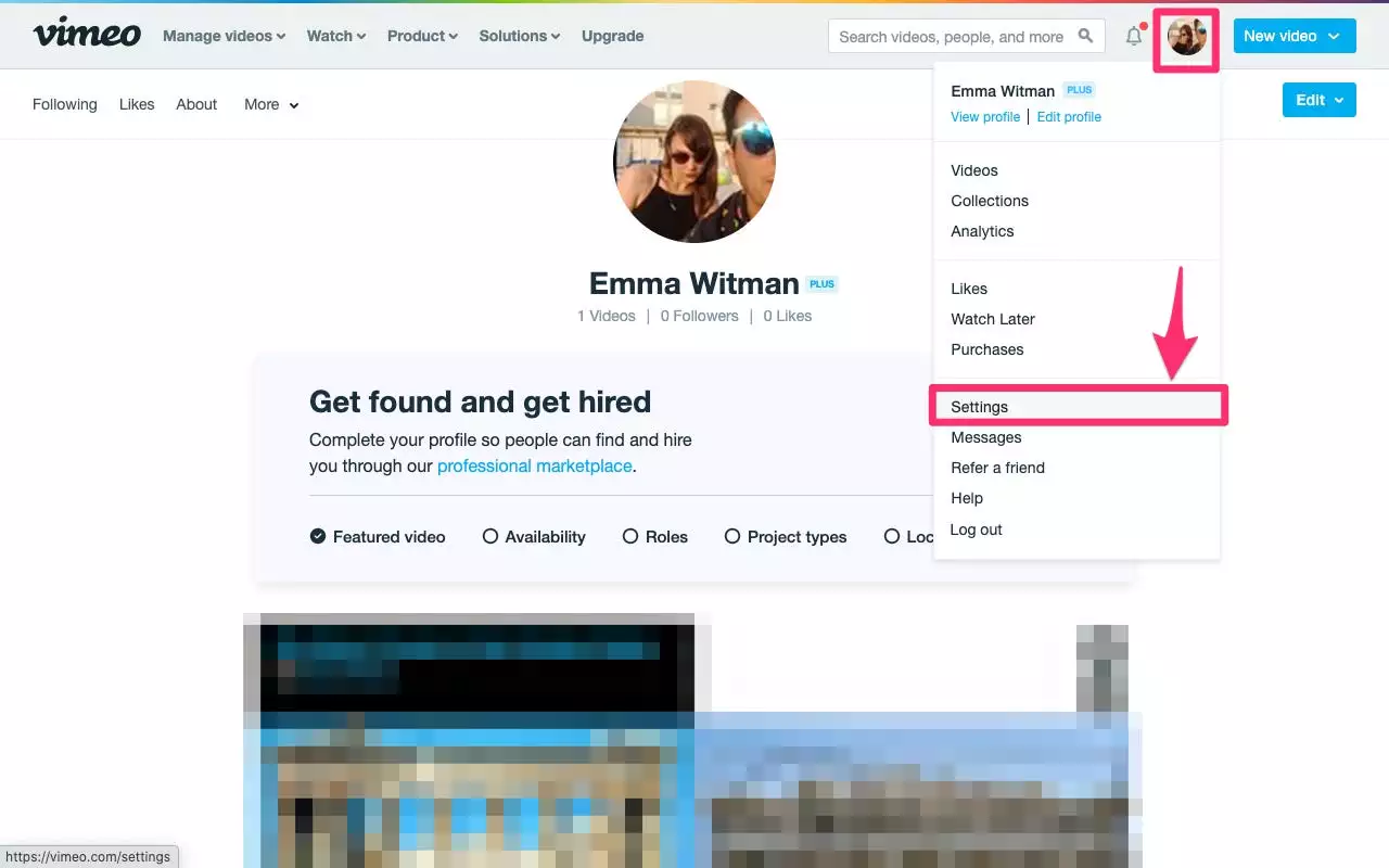 How to delete a Vimeo account on the web browser? 2021 guide