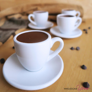 Rich Hot Sipping Chocolate (Low Carb, Gluten-free).