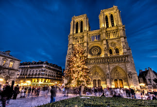 Photo: Notre Dame  from the blog at www.stuckincustoms.com