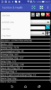 Nutrition & Health Data/Record- screenshot thumbnail