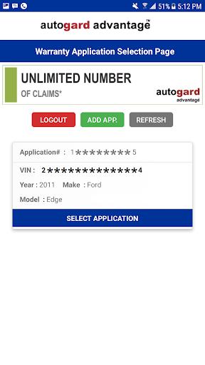 Autogard Advantage - Warranty Holder 3.0 screenshots 2