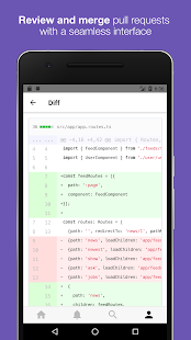 GitPoint - GitHub in your pocket- screenshot thumbnail