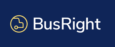 logo of Busright - school bus tracking software