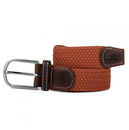 BillyBelt Braid belt terracotta