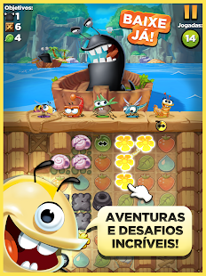Best Fiends: miniatura da captura de tela
