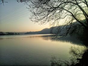 Photo: Wetter und Harkortberg bei beginnender Abenddämmerung.