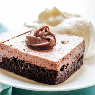 CHOCOLATE CHEESECAKE BROWNIE BARS.
