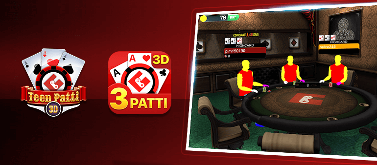 Reasons to play online 3 patti or teen patti game on Gamentio
