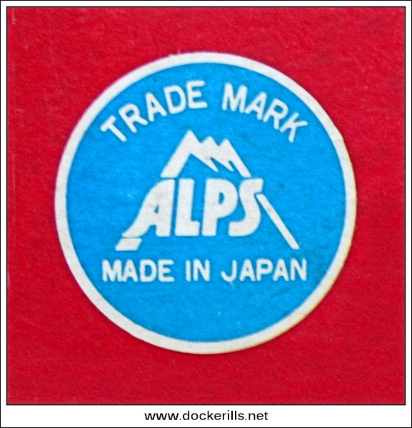 Photo: Alps Trade Mark, As shown on School Bus Box.  Visit my blog - Collecting Tin Toys at  http://tinplatetoys.blogspot.co.uk/