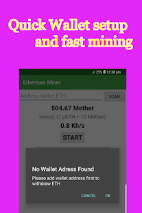 Free Ethereum Miner-Easy,Fast Mining Quick Payouts - náhled