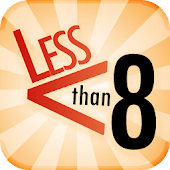 Less Than 8: Numbers Puzzle