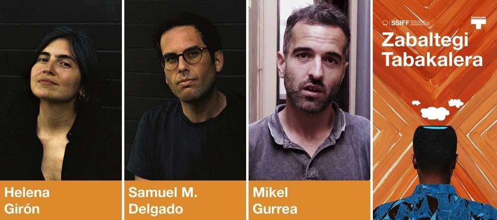Helena Girón, Samuel M. Delgado y Mikel Gurrea