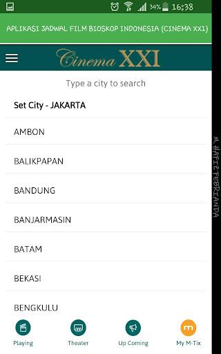 Aplikasi Jadwal Film Bioskop Indonesia 1.0 screenshots 18