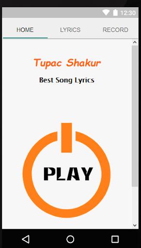 2pac Shakur Lyrics