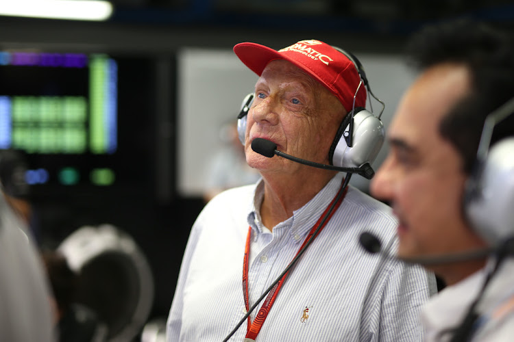 Niki Lauda is in intensive care in a Vienna hospital, but is expected to be released later this week. Picture: SUPPLIED