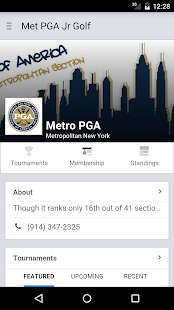 Met PGA Junior Golf- screenshot thumbnail