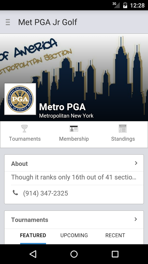 Met PGA Junior Golf- screenshot