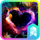 Colorful Heart Launcher theme icon