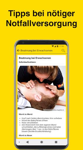 Gelbe Seiten Notfall-App  screenshots 2