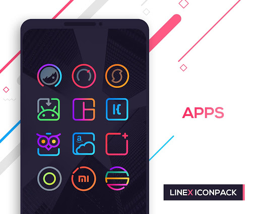 Screenshot for LineX Icon Pack in Korea Play Store