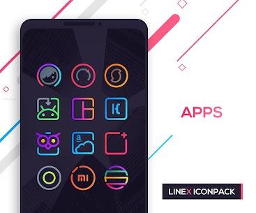 LineX Icon Pack 6