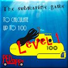 Free submarine game - Level 1 icon