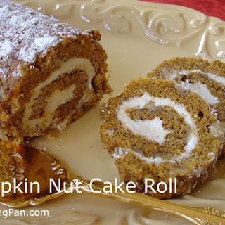 Pumpkin Nut Roll With Cream Cheese Recipes