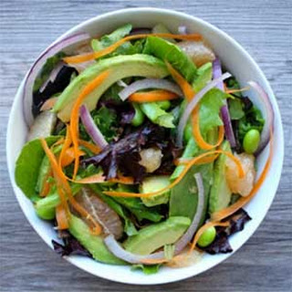 Ahi Tuna Salad with Citrus Ginger Dressing
