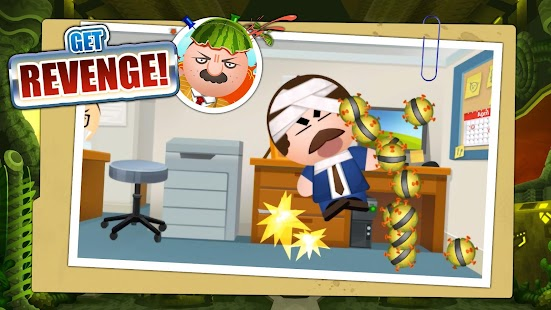 Beat the Boss 4: Stress-Relief Game. Hit the buddy Screenshot