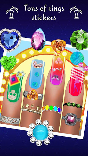 Nail Art Designs - Nail Manicure Games for Girls 1.1 screenshots 2