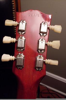 Dating en Gibson Les Paul av serienummer