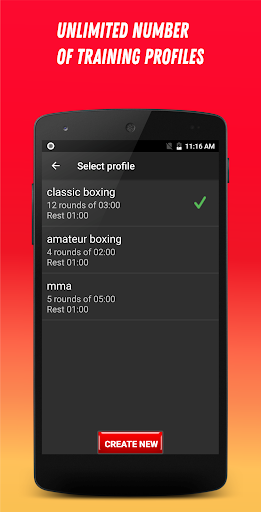 Boxing Interval Timer 3.1.5 Screenshots 6